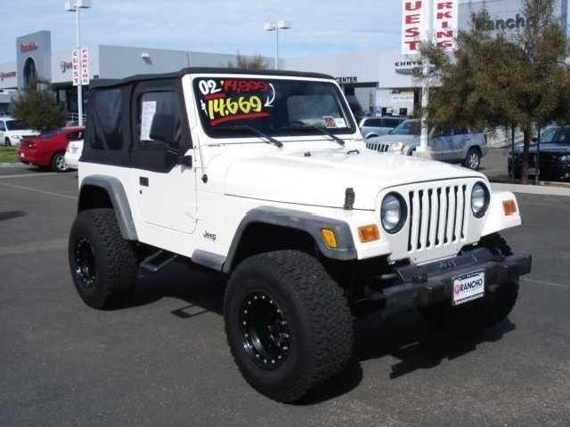 2002 jeep wrangler used cars in san diego mitula cars. Black Bedroom Furniture Sets. Home Design Ideas