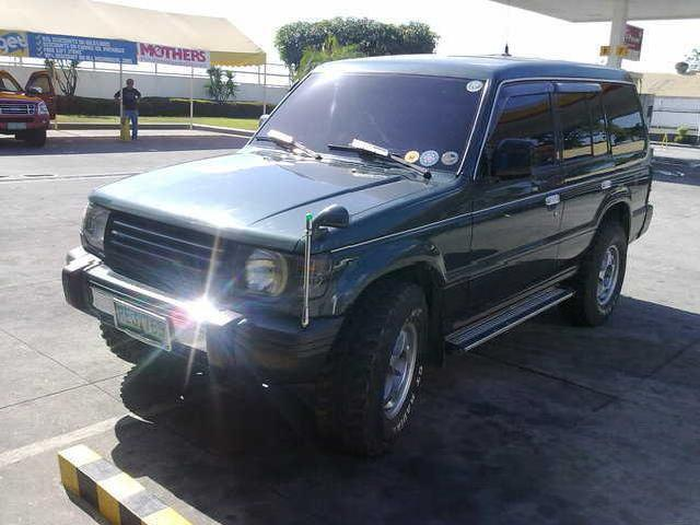 2003 acquired mitsubishi pajero 4x4 automatic new tires dual aircon only p330k