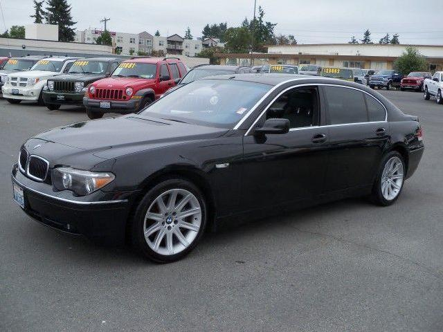 2003 bmw 7 series used cars in washington mitula cars. Black Bedroom Furniture Sets. Home Design Ideas