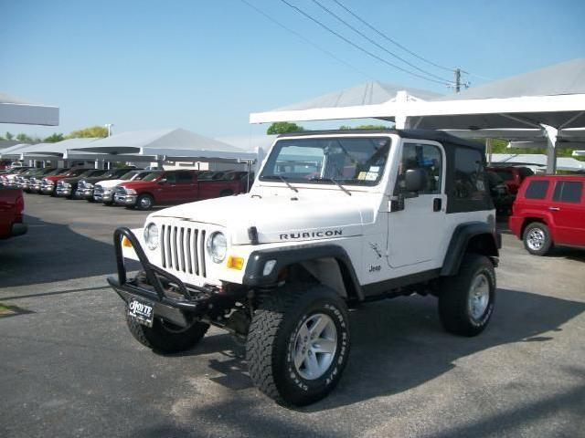 jeep wrangler rubicon 2003 texas mitula cars. Black Bedroom Furniture Sets. Home Design Ideas