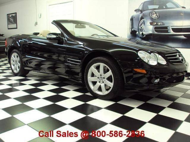 Accident free mercedes benz sl class used cars in florida for Florida mercedes benz used cars