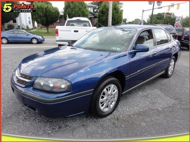 Chevrolet Impala In Blue Used Chevrolet Impala 2004 Blue Book