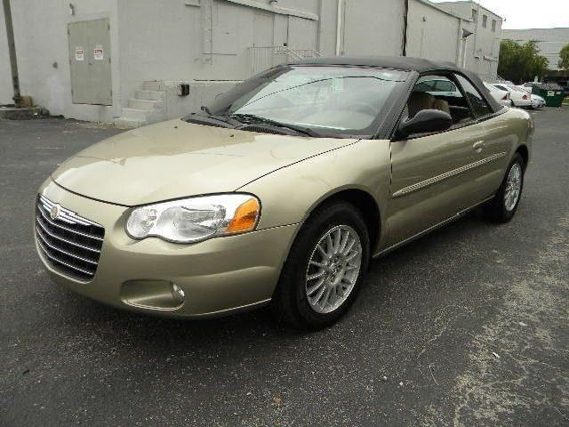 2004 chrysler sebring 2dr convertible lxi low miles