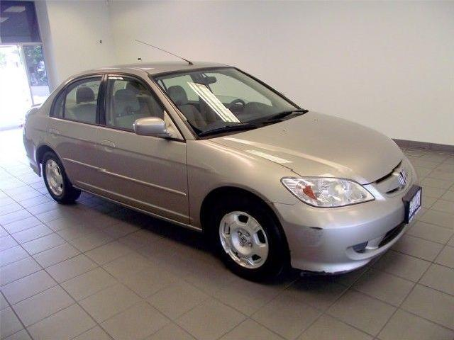 Honda civic hybrid california 9 gold honda civic hybrid for Gold honda civic
