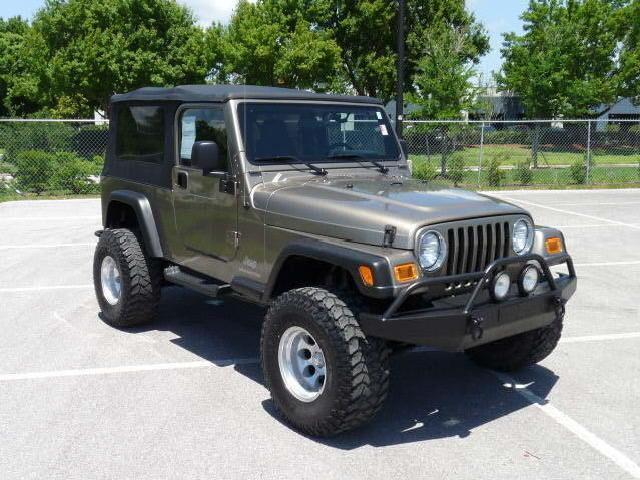 Jeep Wrangler Unlimited In Florida   Used Jeep Wrangler Unlimited 2004  Florida   Mitula Cars