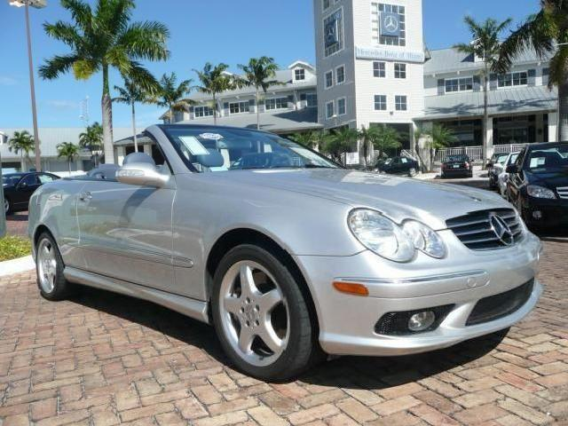 Clk500 convertible mercedes benz used cars in florida for Florida mercedes benz used cars