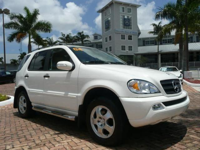 2004 mercedes benz m class used cars in miami mitula cars for 2004 mercedes benz m class