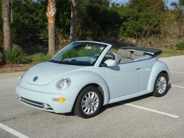 2004 Volkswagen New Beetle Used Cars In Sarasota Mitula Cars