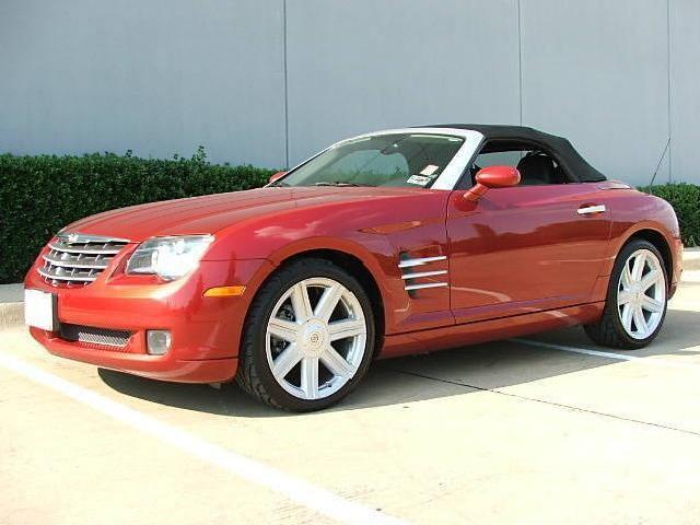 Chrysler Crossfire Used Cars In Dallas Mitula Cars