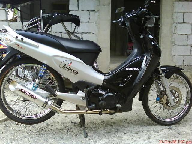2005 honda wave 125 black