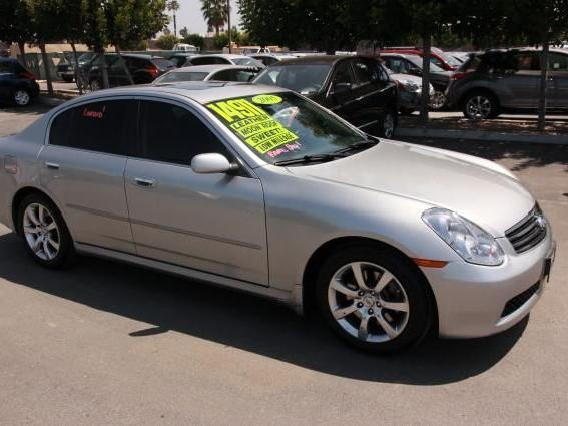 Sedan Infiniti G35 Used Cars In Orange Mitula Cars