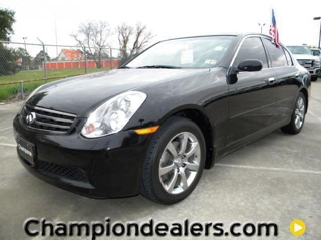 infiniti g35 sedan katy with pictures mitula cars. Black Bedroom Furniture Sets. Home Design Ideas