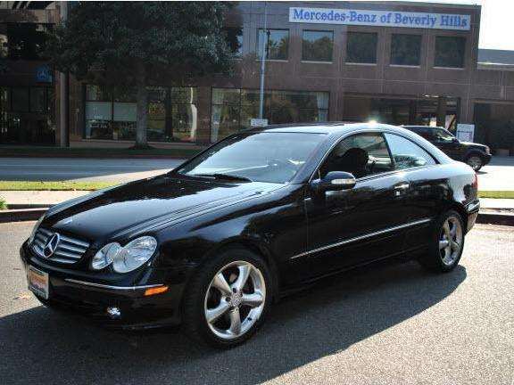 Coupe mercedes clk beverly hills mitula cars for 2005 mercedes benz clk class coupe