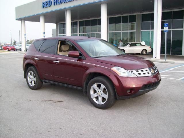 nissan murano red 2005 mitula cars. Black Bedroom Furniture Sets. Home Design Ideas