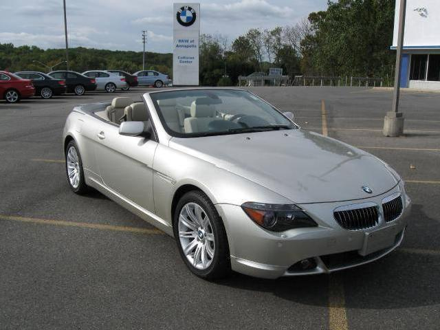 2006 bmw 6 series used cars in annapolis mitula cars with pictures. Black Bedroom Furniture Sets. Home Design Ideas