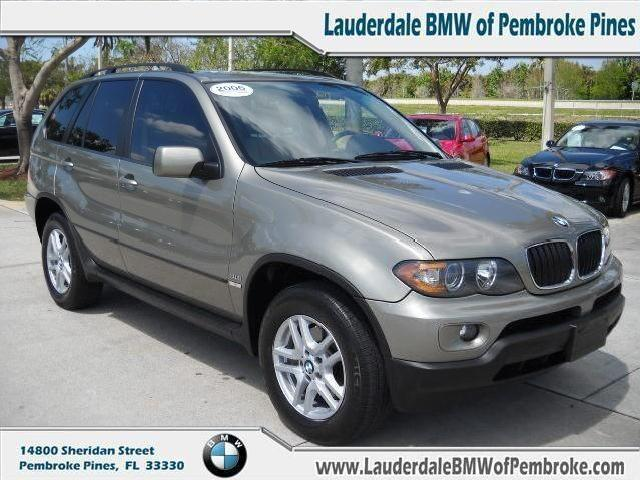 2006 Bmw X5 Used Cars In Pembroke Pines Mitula Cars