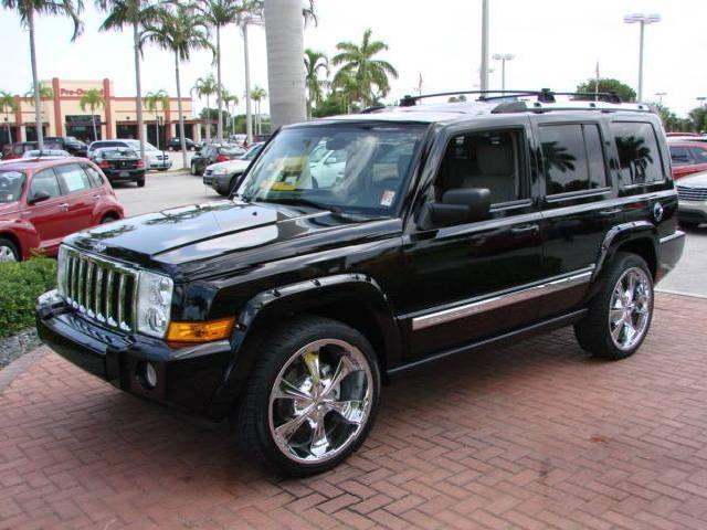 2006 Jeep Commander Limited 2wd: 2006 Jeep Commander Used Cars In Miami