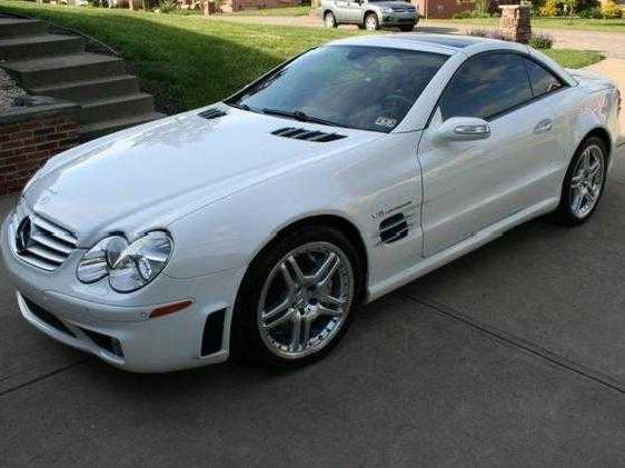 Sl55 amg red interior mercedes benz used cars mitula cars for 2006 mercedes benz sl55 amg