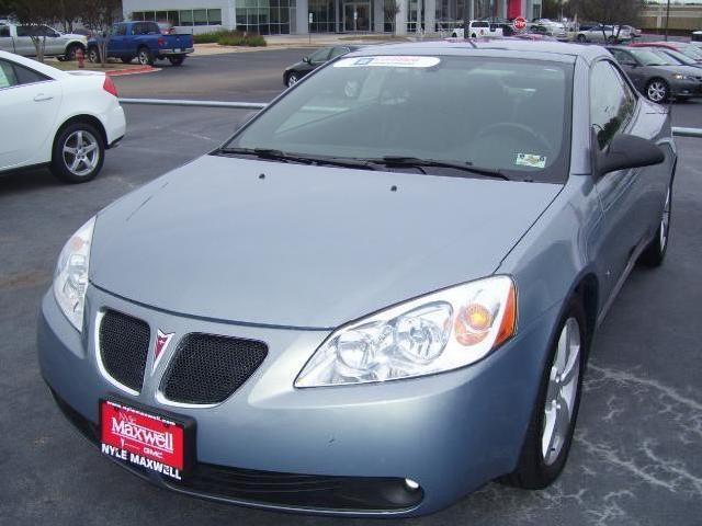 Convertible Pontiac G6 Used Cars in Round Rock - Mitula Cars
