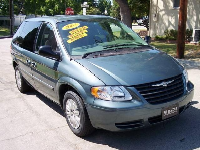 Roseville Auto Sales >> Green Chrysler Town and Country Used Cars in California ...