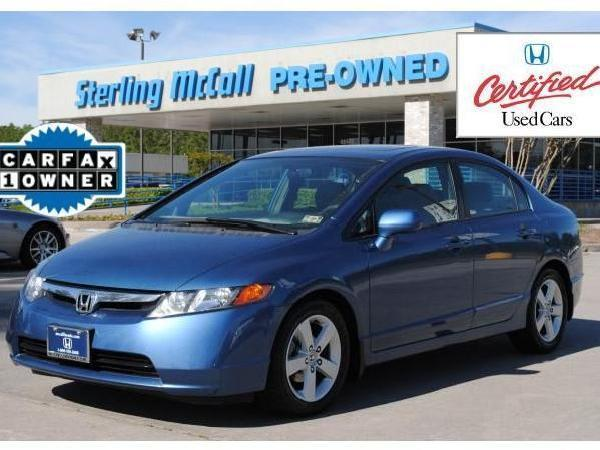 Certified Honda Civic Used Cars in Kingwood - Mitula Cars