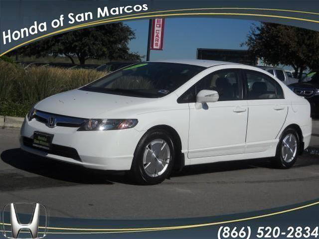 Honda civic hybrid san marcos 10 honda civic hybrid used for Honda dealership san marcos