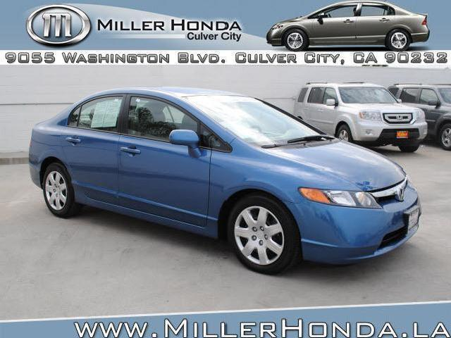 Honda civic sedan culver city 14 certified honda civic for Culver city honda