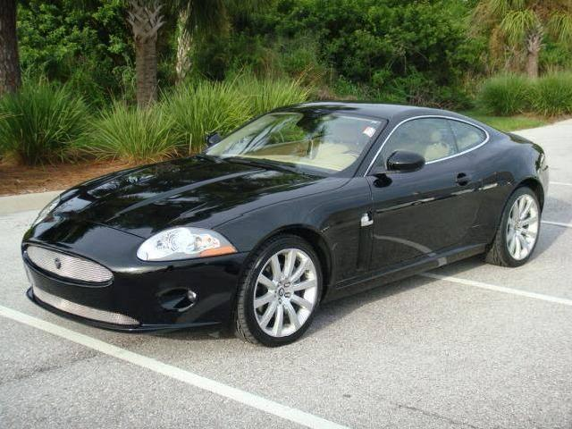 Jaguar xk coupe red - photo#26