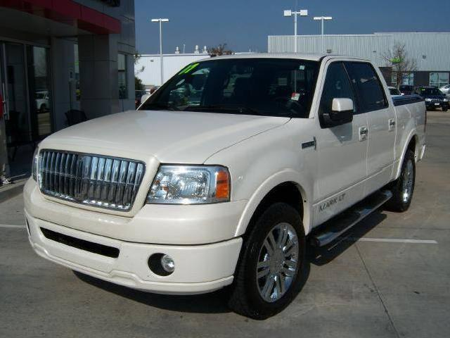 2007 lincoln mark lt 4wd supercrew pearl white loaded