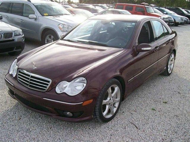 Burgundy Mercedes Benz C Class Used Cars In Florida