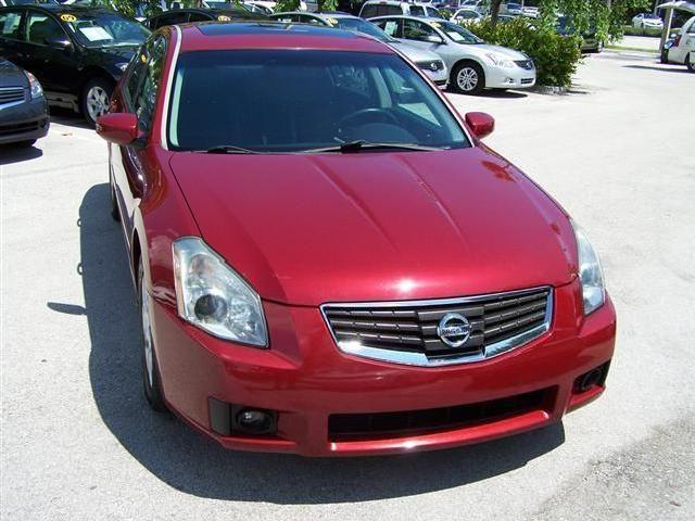 Red 2007 Nissan Maxima Used Cars - Mitula Cars