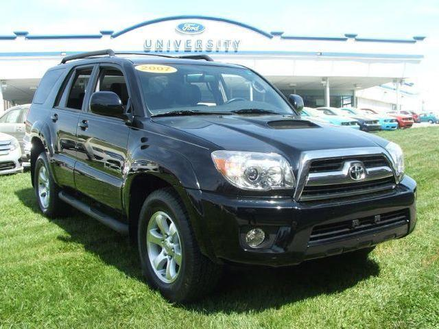 toyota 4runner trail edition 27 used 2007 sport 4wd. Black Bedroom Furniture Sets. Home Design Ideas