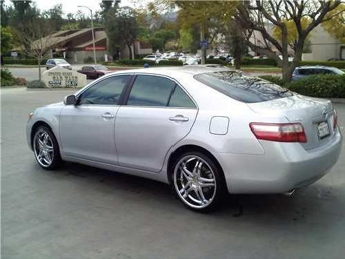 2007 toyota camry 20 inch rims. Black Bedroom Furniture Sets. Home Design Ideas