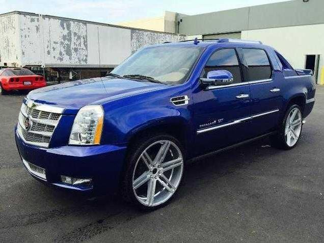 cadillac escalade ext blue california mitula cars. Black Bedroom Furniture Sets. Home Design Ideas