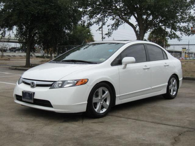 Honda Civic Sedan White 2008 Texas Mitula Cars