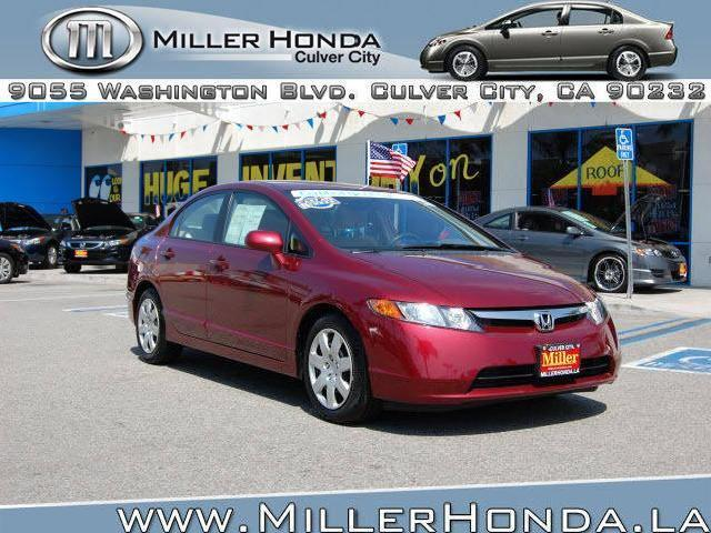 Honda civic sedan certified culver city mitula cars for Culver city honda