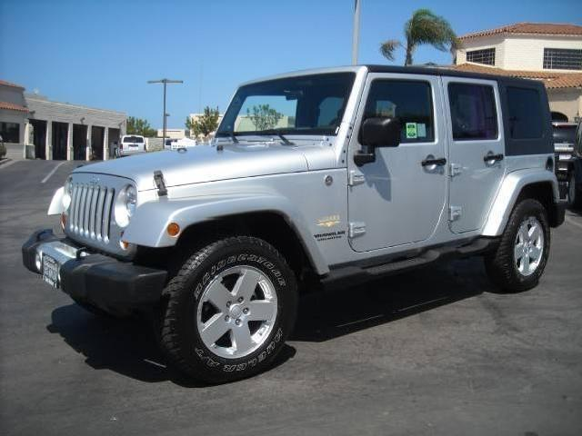 2008 Jeep Wrangler Unlimited Sahara Used Cars In Carlsbad