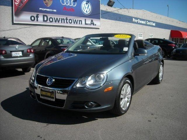 convertible volkswagen eos used cars in los angeles. Black Bedroom Furniture Sets. Home Design Ideas