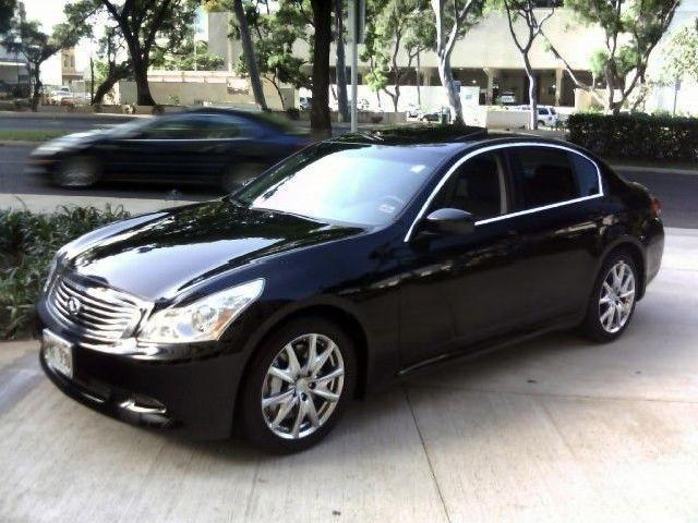 sedan infiniti g37 used cars in honolulu mitula cars. Black Bedroom Furniture Sets. Home Design Ideas
