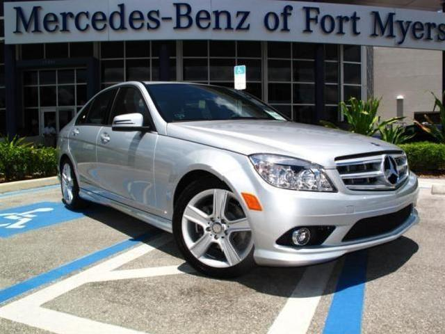 Mercedes benz c class leather interior fort myers mitula for 2010 mercedes benz c class c300 luxury