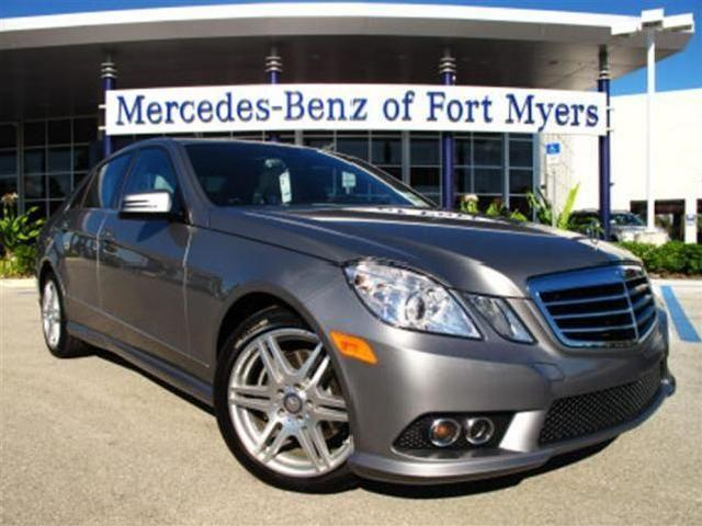mercedes benz e class silver metallic fort myers mitula cars. Cars Review. Best American Auto & Cars Review