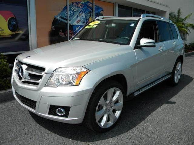 Silver mercedes benz glk class used cars in sarasota for 2010 mercedes benz glk class