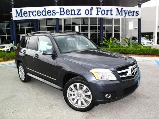 Grey metallic mercedes benz glk class used cars in florida for Mercedes benz of fort myers used cars