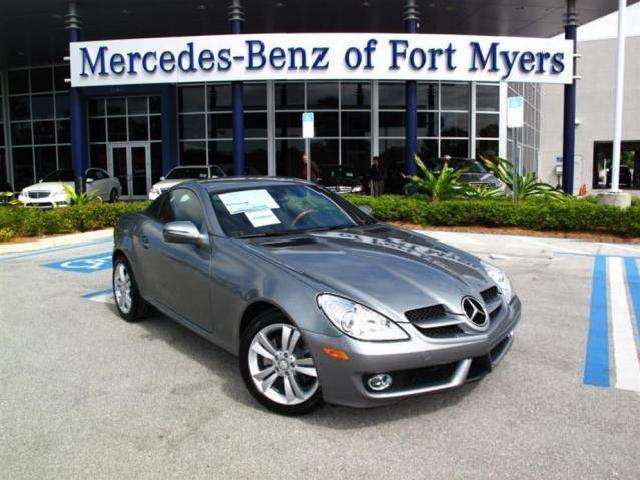 Mercedes benz slk class florida 5 black metallic for Mercedes benz of fort myers used cars