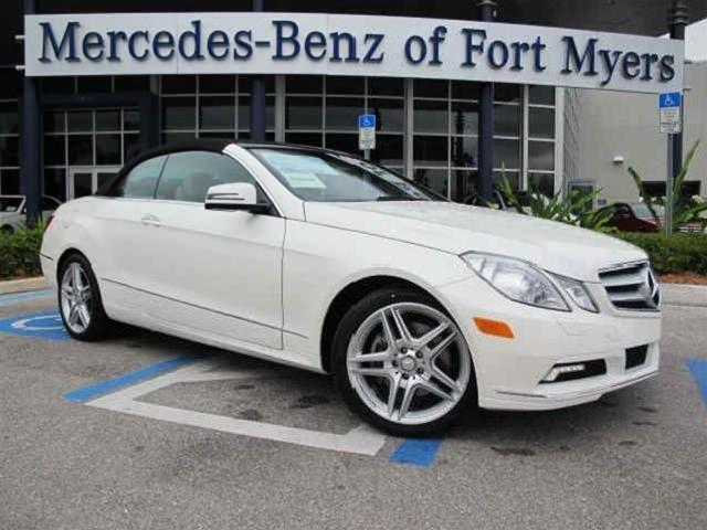 2011 mercedes benz e class 2dr cabriolet rwd. Cars Review. Best American Auto & Cars Review