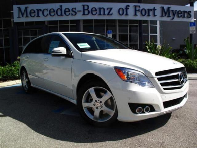 Mercedes benz r class 20 used white 2011 mercedes benz r for Mercedes benz of fort myers used cars