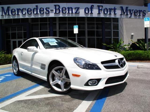 2011 mercedes benz sl class used cars in white plains for Mercedes benz of fort myers used cars