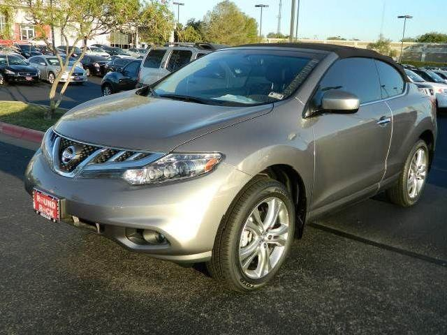 convertible nissan murano crosscabriolet round rock mitula cars. Black Bedroom Furniture Sets. Home Design Ideas