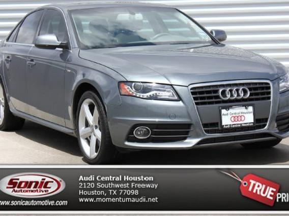 Gray 2012 Audi A4 Used Cars in Texas - Mitula Cars
