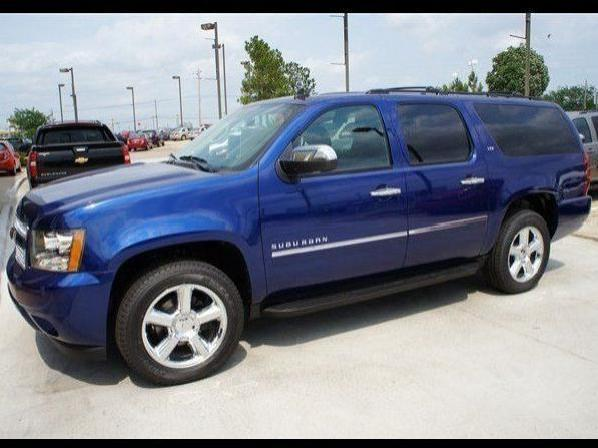 Chevrolet Suburban LTZ-Ton - 9 Used blue 2012 Chevrolet ...